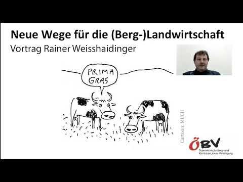Neue Wege für die (Berg-)Landwirtschaft