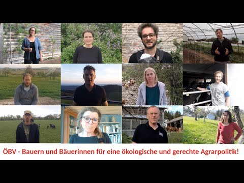 ÖBV-Bauern und Bäuerinnen für eine ökologische und gerechte GAP!