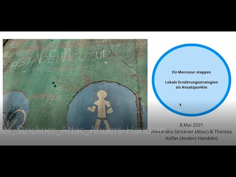 Workshop Attac/Anders handeln: EU-Mercosur stoppen – Nyéléni Frühlingserwachen 2021