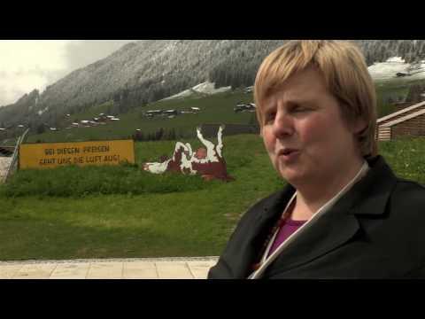 ÖBV-Bäuerinnenaktion in Alpbach: mit Chor, Kühen und Kreativität
