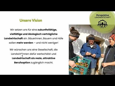 Workshop Perspektive Landwirtschaft - Nyéléni Frühlingserwachen 2021
