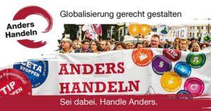 Start: Anders Handeln – Auftaktveranstaltung: Das Bündnis TTIP STOPPEN heißt jetzt Anders Handeln @ WUK Projektraum | Wien | Wien | Österreich