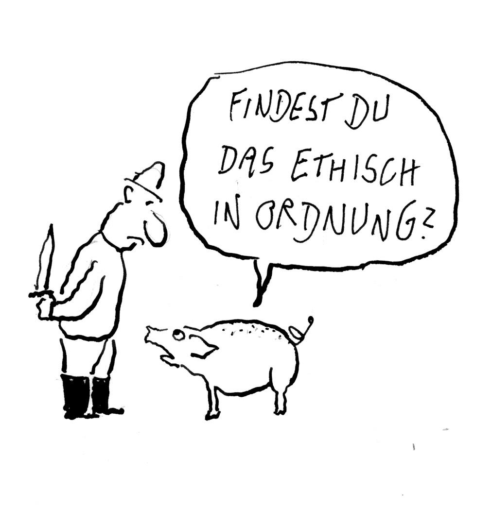 Genehmigung für stressfreie Schlachtung in der Schweiz