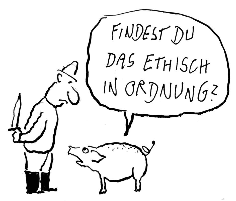 """""""Stressfreie Schlachtung"""" legalisieren, statt religiöse Minderheiten schikanieren!"""