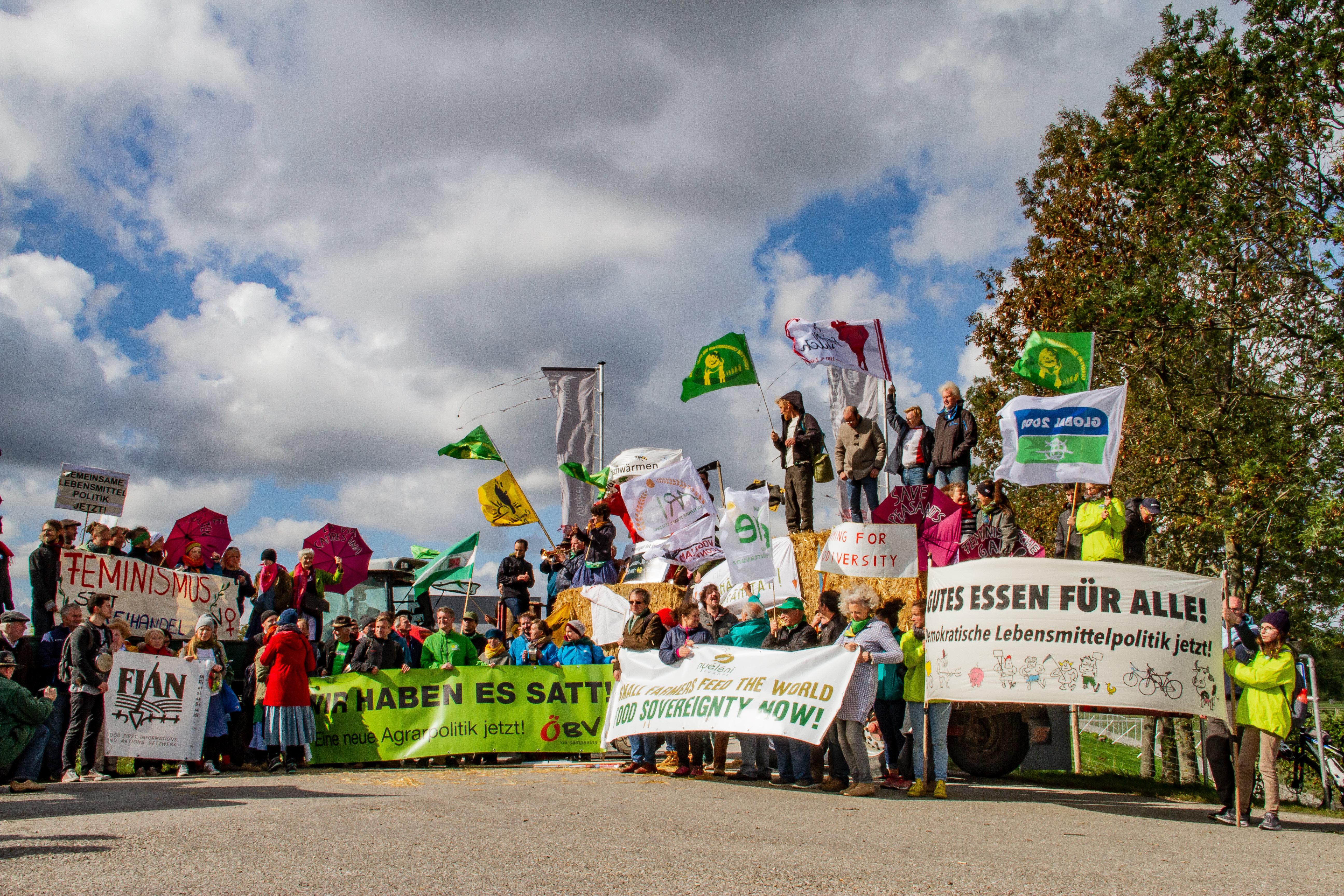 Welternährungstag: Kehrtwende in der EU-Agrarpolitik notwendig!