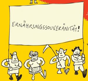 Wider-Standl am Tag des kleinbäuerlichen Widerstand (Vbg) @ Dornbirner Markt (Vlbg)