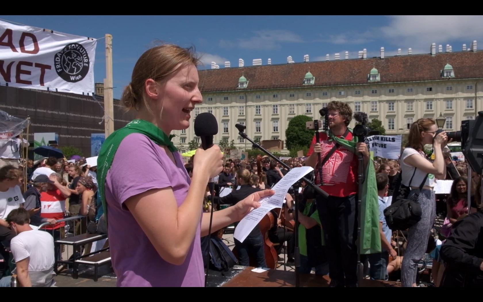 Farmers For Future: Redebeitrag auf Klimastreik-Demo von #FridaysForFuture
