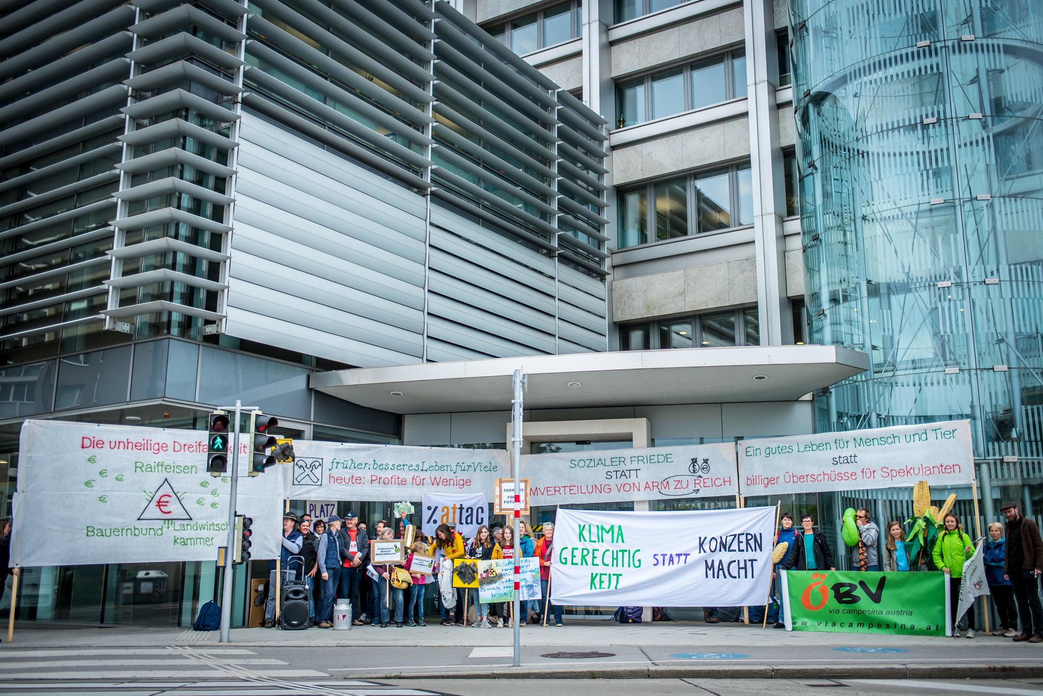 """Aktionstag: """"Klimagerechtigkeit statt Konzernmacht"""""""