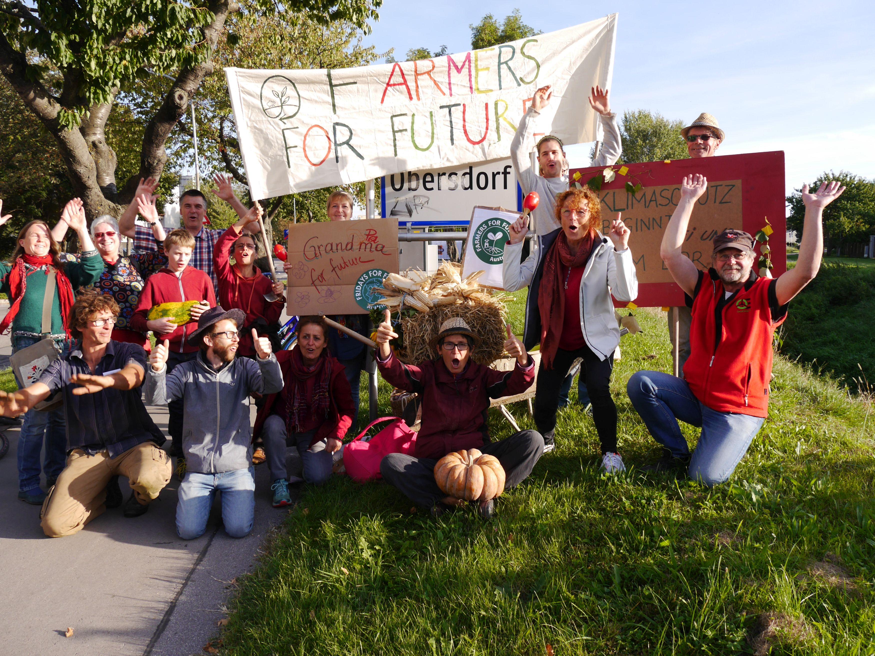 Farmers for Future: Bäuerinnen und Bauern streiken für das Klima