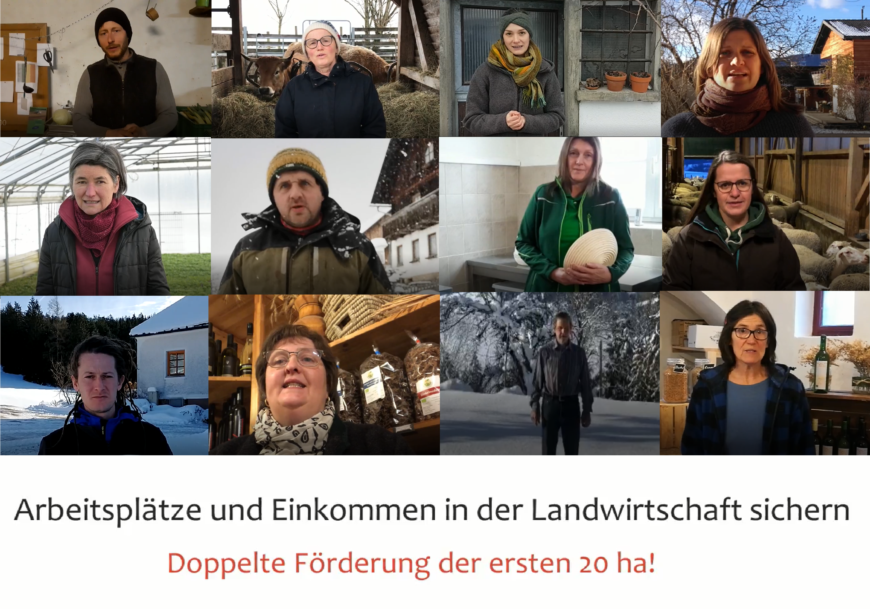 Offener Brief: Erste 20 ha doppelt fördern!