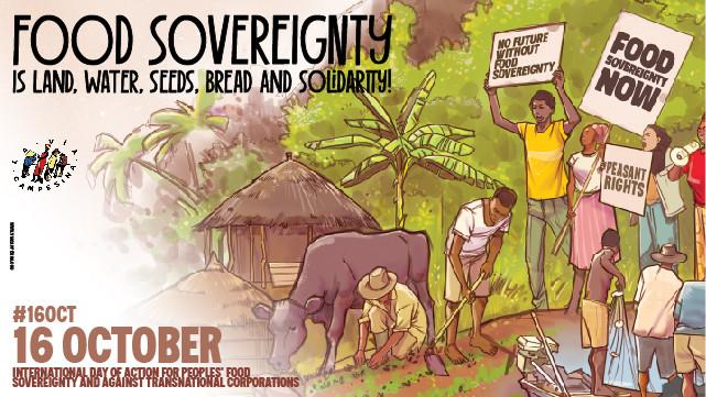 Zum Welternährungstag: 25 Jahre Bewegung für Ernährungssouveränität!