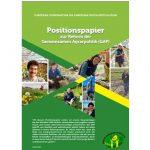 ECVC-Jugend: Positionspapier zur Reform der Gemeinsamen Agrarpolitik (GAP)